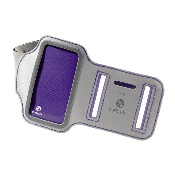 Yurbuds Women's Sport Armband for iPod Nano 7th Generation Purple