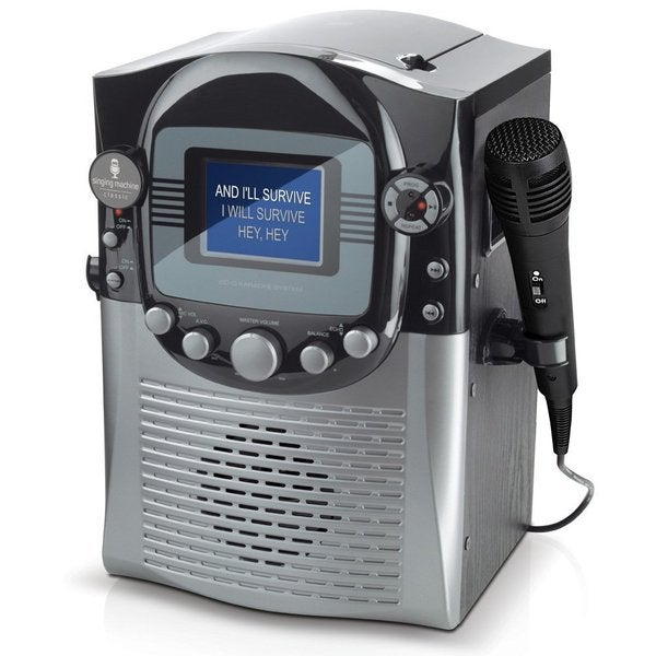 Singing Machine STVG359 CD+G Karaoke System with 3.5 inch Color LCD Monitor (Refurbished)