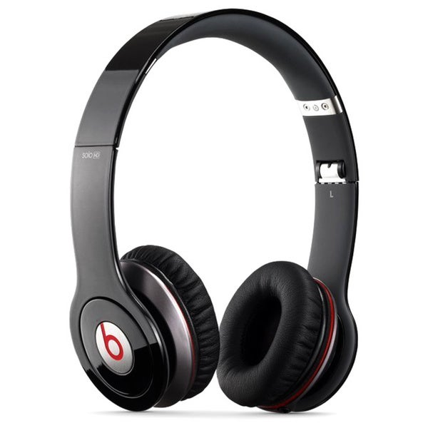 Beats by Dre Solo HD Black On-ear Headphones (Refurbished)