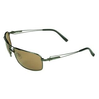 Serengeti Men's 'Dante' Amber Sunglasses