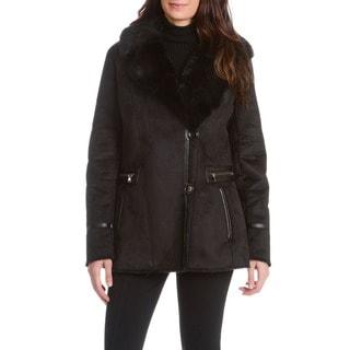 Nuage Women's Faux Shearling Short Coat