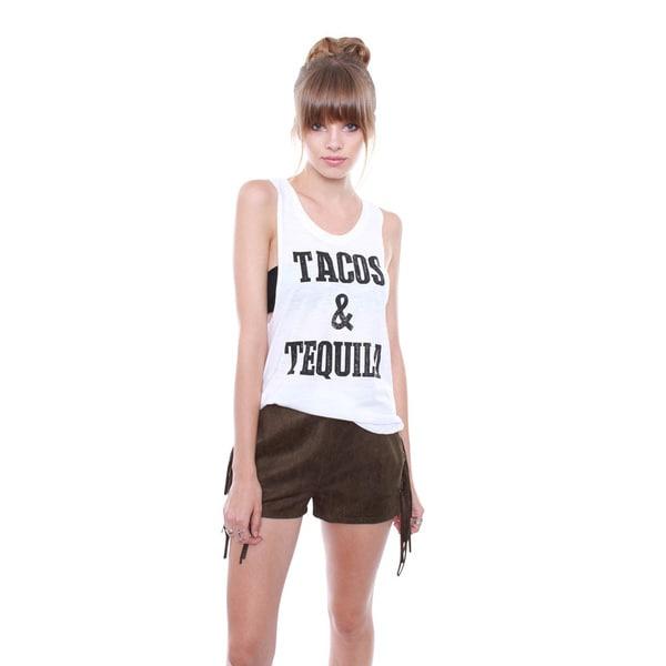 Junior's Tacos & Tequila Tank Top TA0468-TR6459