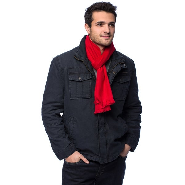 HTC Luxury Cashmere Brush Fringe Scarf