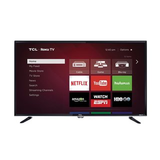 TCL 40FS3750 40-inch 1080p 120Hz Roku Smart Wi-Fi LED HDTV (Refurbished)
