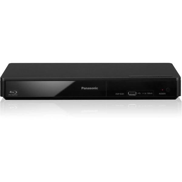 Panasonic DMP-BD81 Smart Network Blu-ray Disc Player (Refurbished)