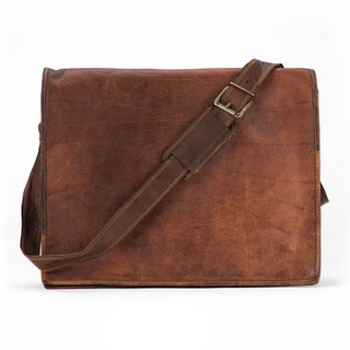 Satch and Fable FXL 17 inch Flap Messenger