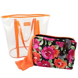 Jacki Design Tropicana Extra Large 2-piece Tote Bag Set