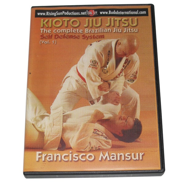 Kioto Brazilian Jiu Jitsu Defense Weapons Blades Basics #1 DVD Mansur M-0141