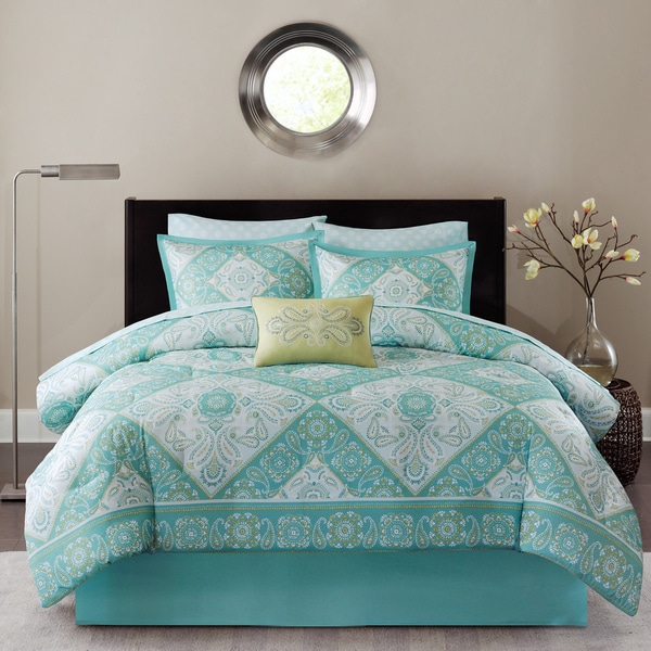 Madison Park Essentials Brooke Complete Comforter Bed Set