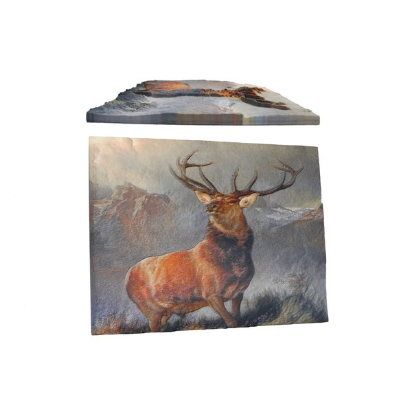 Sir Edwin Landseer 'Monarch of the Glen' 3D Printed Art
