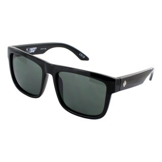 Spy Optic Unisex Discord Square Black Sunglasses