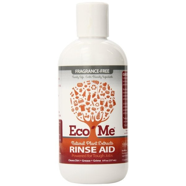 Eco-Me All Natural Fragrance Free 8-ounce Dish Rinse Aid (Pack of 6)