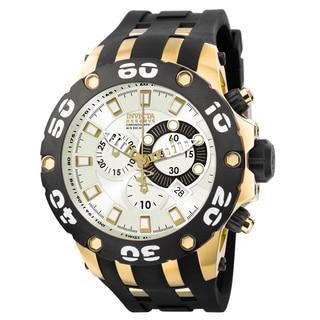 Invicta Men's 0915 Subaqua Quartz Chronograph Silver Dial Watch