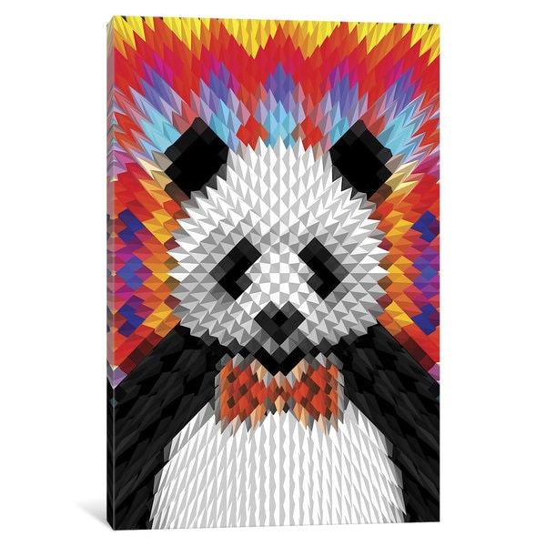 iCanvas Panda by Ali Gulec Canvas Print