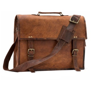 Satch and Fable SL15-inch Leather Messenger Bag