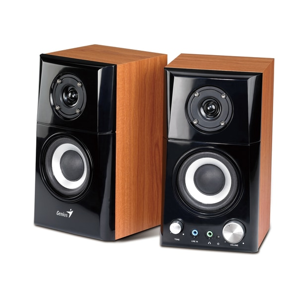 2-way Wooden Bluetooth Speakers