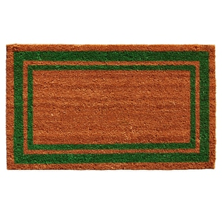 Green Border Doormat (1'6 x 2'6)