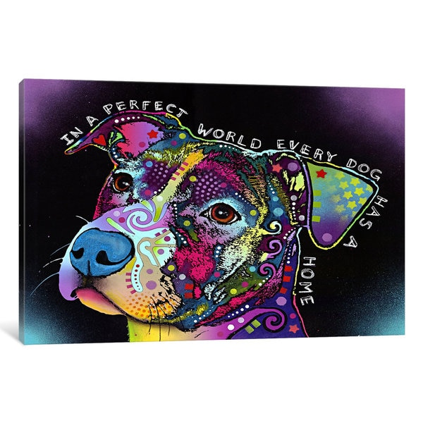 iCanvas In a Perfect World by Dean Russo Canvas Print