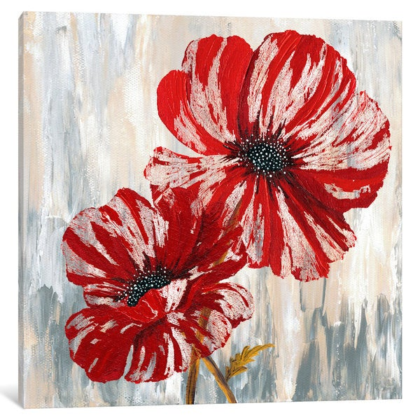 iCanvas Red Poppies II from Willow Way StudiosInc collection by Willow Way Studios Canvas Print