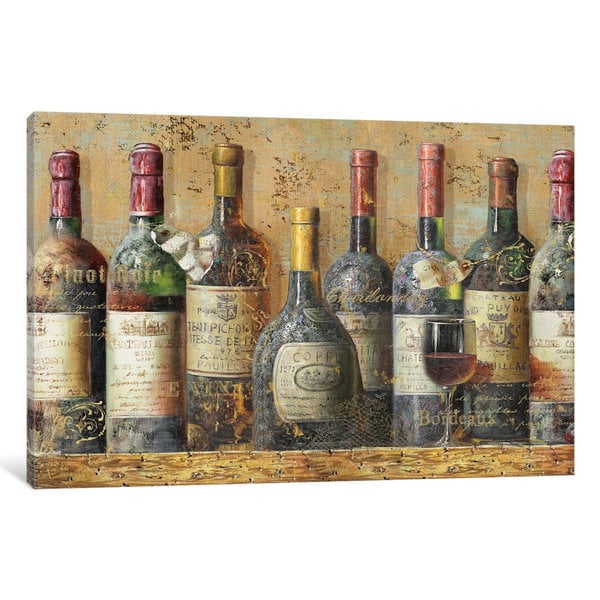 iCanvas Wine Collection I by NBL Studio Canvas Print