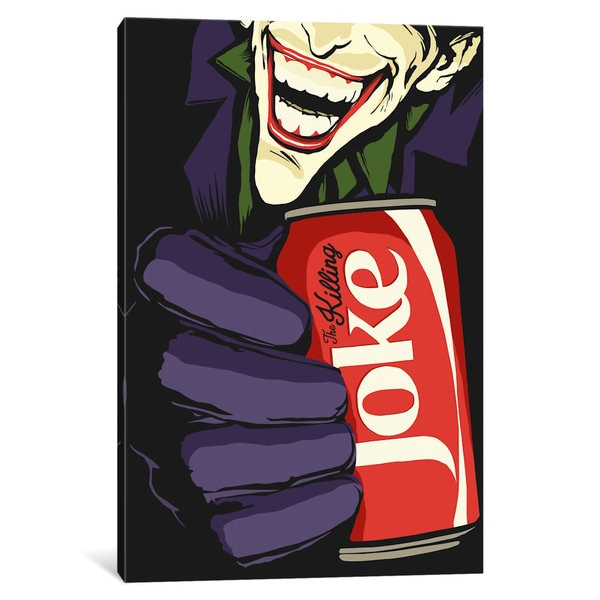 iCanvas The Killing Joke by Butcher Billy Canvas Print