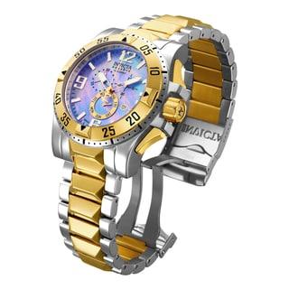 Invicta Men's 15333 Excursion Quartz Chronograph Platinum Dial Watch