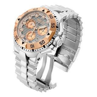 Invicta Men's 15982 Excursion Quartz Chronograph Silver Dial Watch