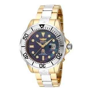 Invicta Men's 16034 Pro Diver Automatic 3 Hand Black Dial Watch