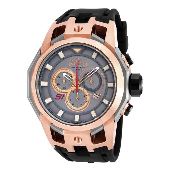 Invicta Men's 16810 S1 Rally Quartz Chronograph Titanium Dial Watch