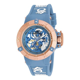 Invicta Women's 17142 Subaqua Mechanical 3 Hand Blue Dial Watch