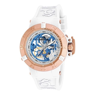 Invicta Women's 17149 Subaqua Mechanical 3 Hand Silver Dial Watch