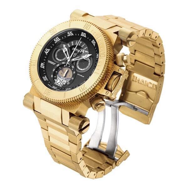 Invicta Men's 17642 Coalition Forces Quartz Chronograph Black Dial Watch 16383940