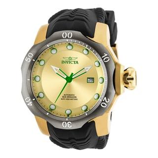 Invicta Men's 19315 Venom Automatic 3 Hand Gold Dial Watch