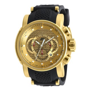 Invicta Men's 19326 S1 Rally Quartz Multifunction Gold Dial Watch