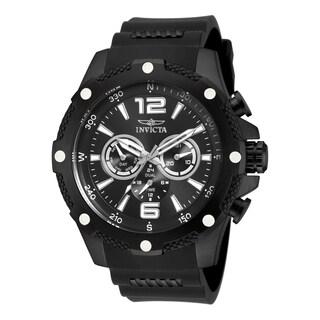 Invicta Men's 19662 I-Force Quartz Chronograph Black Dial Watch