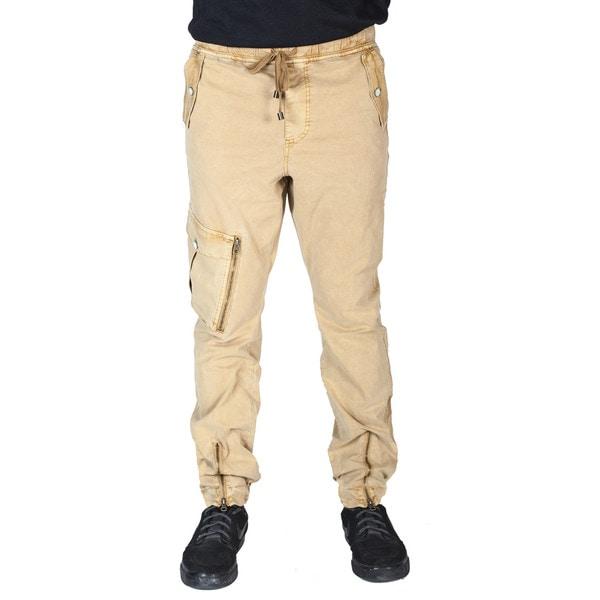 Men's Twill Drawstring Cargo Pants