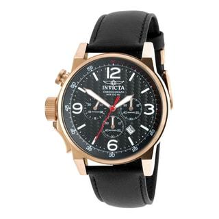 Invicta Men's 20138 I-Force Quartz Chronograph Black Dial Watch