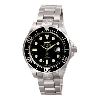 Invicta Men's 3044 Pro Diver Automatic 3 Hand Black Dial Watch