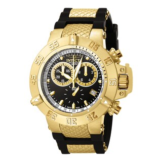 Invicta Men's 5514 Subaqua Quartz Chronograph Black Dial Watch