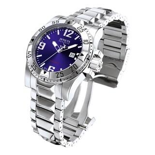 Invicta Men's 5673 Excursion Quartz 3 Hand Blue Dial Watch