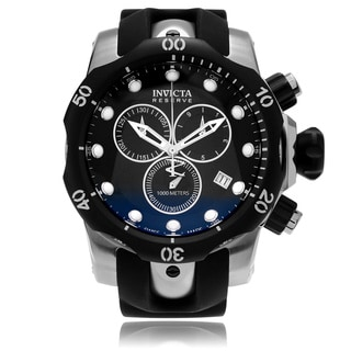 Invicta Men's 5732 Venom Quartz Chronograph Black Dial Watch