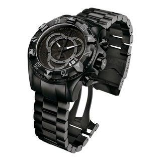 Invicta Men's 6474 Excursion Quartz Chronograph Black Dial Watch