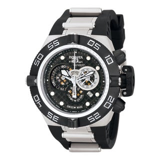 Invicta Men's 6564 Subaqua Quartz Chronograph Black Dial Watch