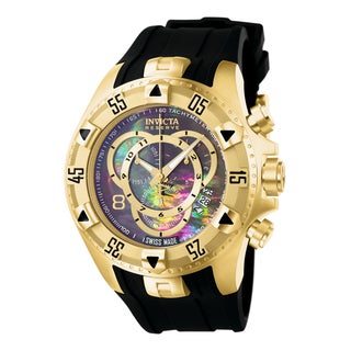 Invicta Men's 6976 Excursion Quartz Chronograph Black Dial Watch
