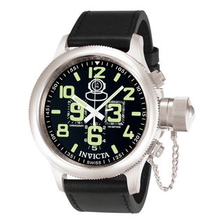 Invicta Men's 7000 Russian Diver Quartz Chronograph Black Dial Watch
