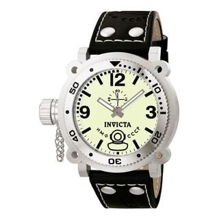 Invicta Men's 7273 Signature Quartz 3 Hand Light Green Dial Watch