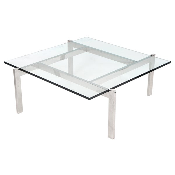 Cosmopolitan Coffee Table with Glass Top