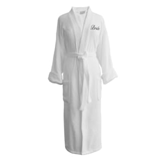 Wyndham Egyptian Cotton Bride Terry Spa Robe