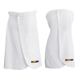 Belmond LGBT Bath Wrap - Flag (Set of 2)