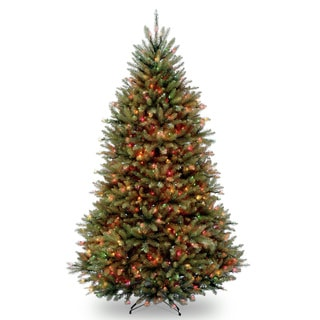 7.5 ft. Dunhill Fir Tree with Multicolor Lights